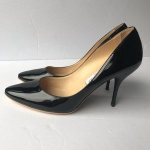 Authentic Jimmy Choo Patent Leather Heels NEW